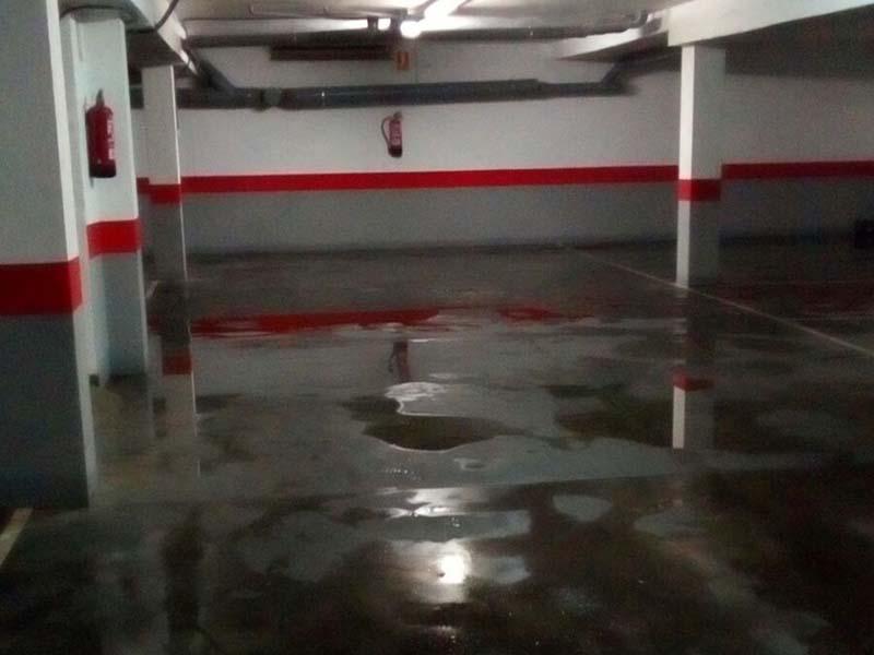 Vaciado de todo tipo de locales y garajes inundados